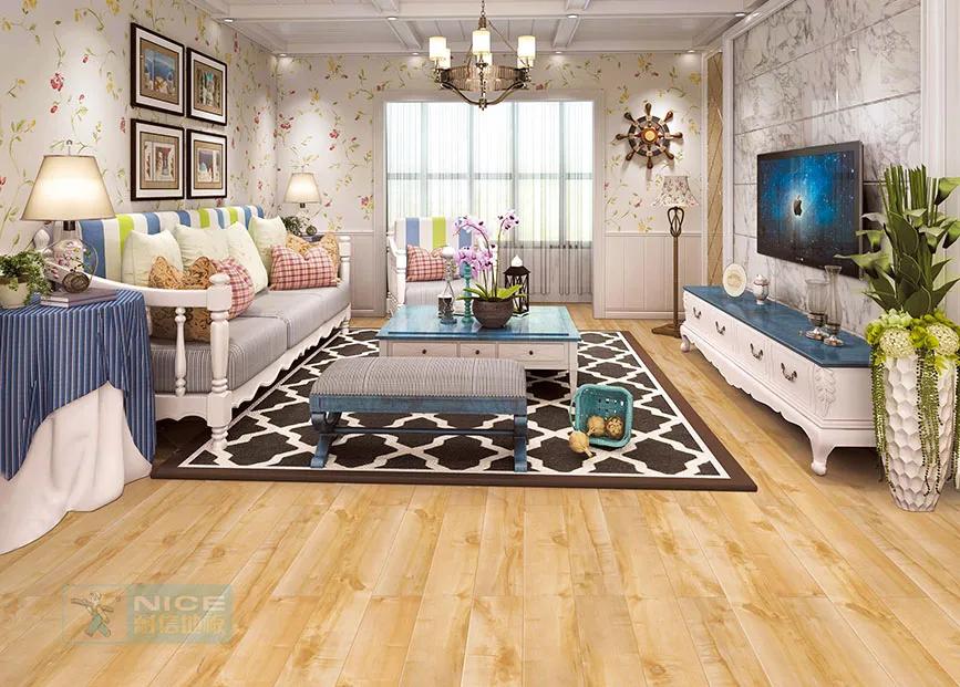 耐信地板 | 大胆用色,还你一个令人惊艳的家!