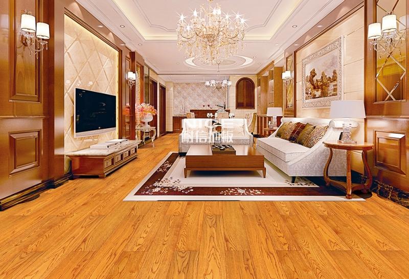 柞木仿古304 实木地板